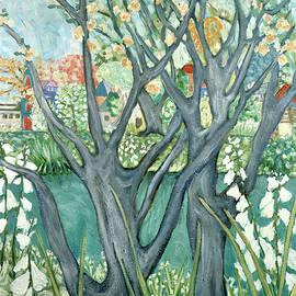 Portland's Spring by Deborah Eve ALASTRA