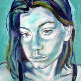 Portrait Of Eugenia by Helena Wierzbicki