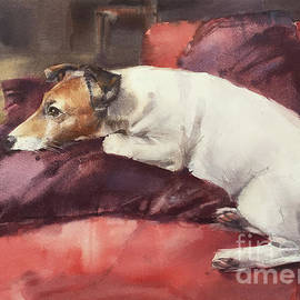 Portrait of Jack Russell called Robin Hood by Andrey Svistunov