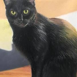 Portrait of Pookie by Barbara Barber