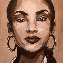 Portrait of Sade  by Victoria Laskov