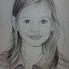 Portrait of young girl Bianca by Biljana Reynolds