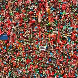 Post Alley Gum Wall - 3 by Jerry Abbott