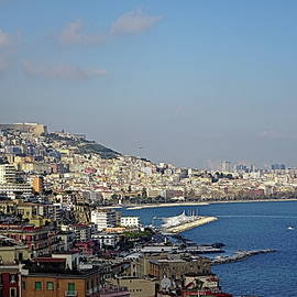 Postcard View of Naples by Lyuba Filatova