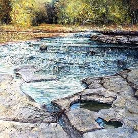 Potholes Along Mill Creek by Stephen Edwards