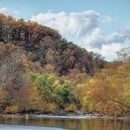 Potomac River Fall Foliage by Francis Sullivan
