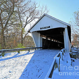Potter's Bridge, Noblesville, Indiana 67 by Steve Gass