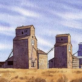 Prairie Sentinels by Michael Baker