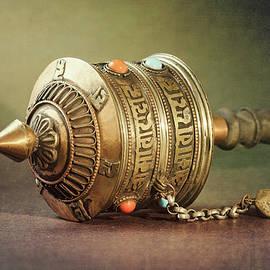 Prayer Wheel II by Joan Carroll