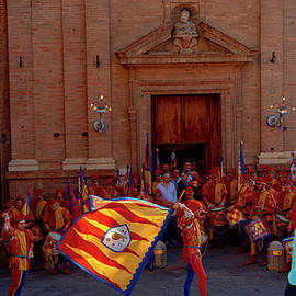 pre-Palio flag ceremony by Andrew Cottrill