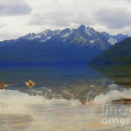 Precious Moments On Redfish Lake Idaho Art Print by Art Sandi