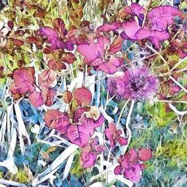 Pretty Garden Mosaic by Eileen Backman