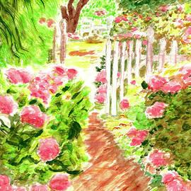 Pretty In Pink Hydrangeas