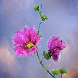 Pretty Pink Flowers by Mary Timman