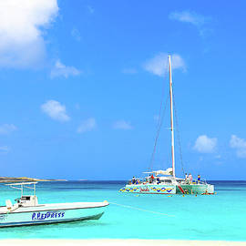 Prickly Pear Cay in Anguilla BWI by Ola Allen