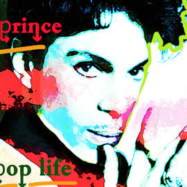Prince Pop Life 1985 by Enki Art