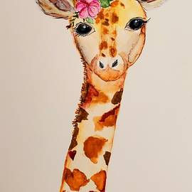 Priscilla the Giraffe by Terry Feather