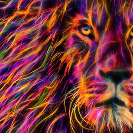 Prismatic Lion by Michael Durst