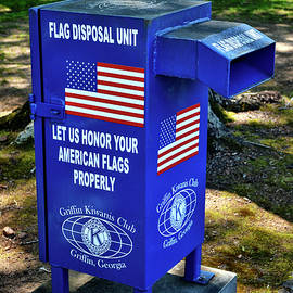 Proper Flag Disposal 001 by George Bostian
