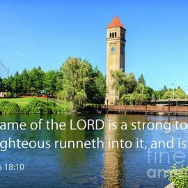 Proverbs 18 Verse 10 by Robert Bales