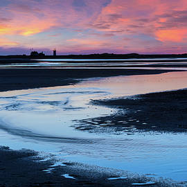 Provincetown Cape Cod Sunset by Bill Wakeley