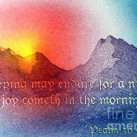 Psalm 30 5 by Teresa Ascone