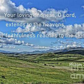 Psalm 36 Verse 5 by Robert Bales
