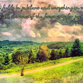 Psalm 96 11 by Michelle Greene Wheeler