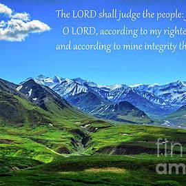 Psalms 7 Verse 8 by Robert Bales