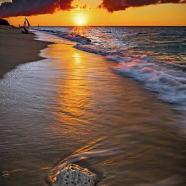 Puka Beach Boracay Philippines by Adrian Evans