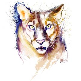 Mountain Lion Head by Marian Voicu