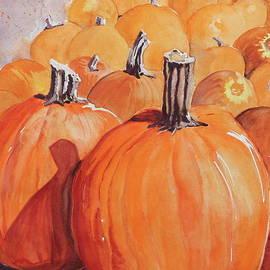 Pumpkin Patch by Patty Strubinger
