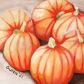 Pumpkins in the Sun by Katrina Gunn