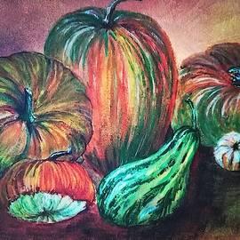 Pumpkins by Iryna Shatynska-Mytsyk