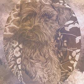 Pup Adorable, in Sepia by Mariecor Agravante