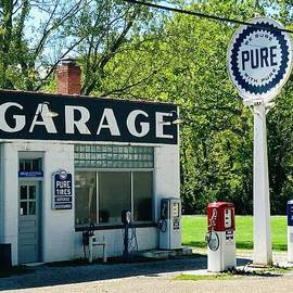 Pure Gas Station by Alice Terrill
