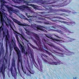 Purple Chrysanthemum by Mattie Blakely