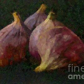 Purple Figs by Dragica Micki Fortuna