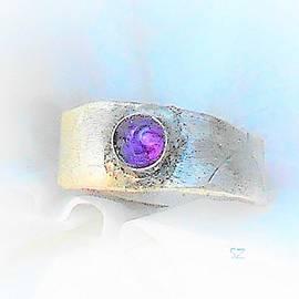 Purple Moon Ring by Samuel Zylstra