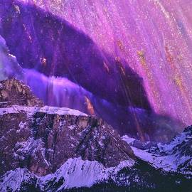 Purple Mountains by Mary Poliquin - Policain Creations