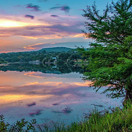 Purple Skies at Joshua Springs    by Lynn Bauer