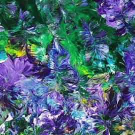 Purple Trellis by Vesna Moore