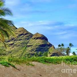 Puu O Hulu From Ma'ili Beach by Craig Wood