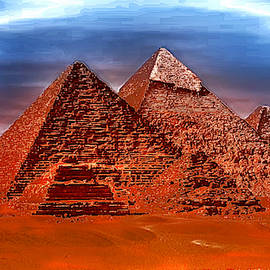 Pyramids Electric by Mario Carini