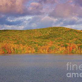 Quaker Lake Autumn by Rachel Cohen