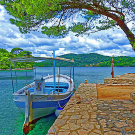 Quiet Dock by the Lake by Brian Shaw