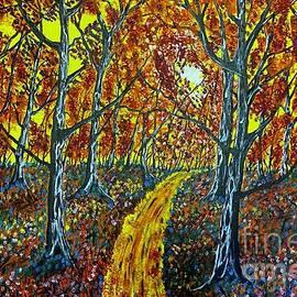 Quiet Forest Trail by Jeffrey Koss