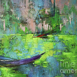 Quiet river by Anastasija Kraineva