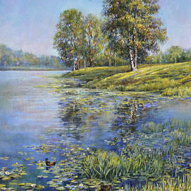 Quiet waters by Leonid Polotsky