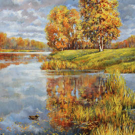 Quiet waters. Part 2. Autumn by Leonid Polotsky